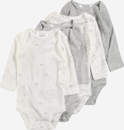 Carter's Bodys 'S20 N LBB Multipk BS' in grau / weiß, Produktansicht
