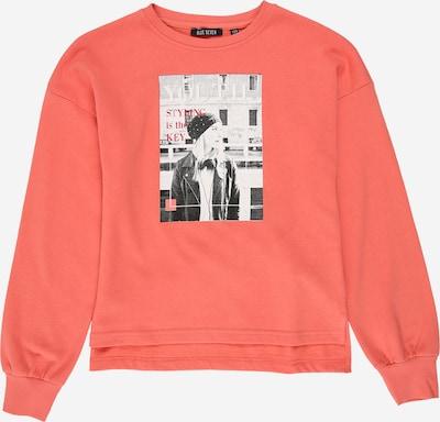 BLUE SEVEN Sweatshirt in rosé / schwarz / weiß, Produktansicht
