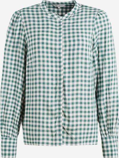 khujo Blouse ' DAMINA ' in de kleur Groen / Wit, Productweergave