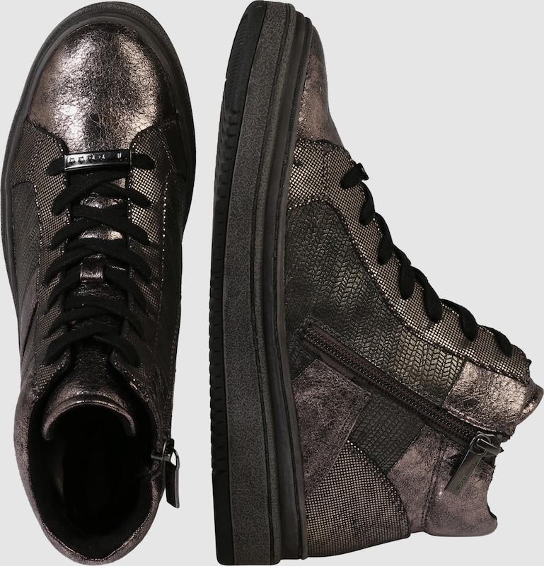 TAMARIS Sneaker mit Glanz-Finish