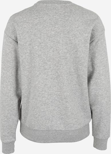 PUMA Sweatshirt in graumeliert / schwarz: Rückansicht
