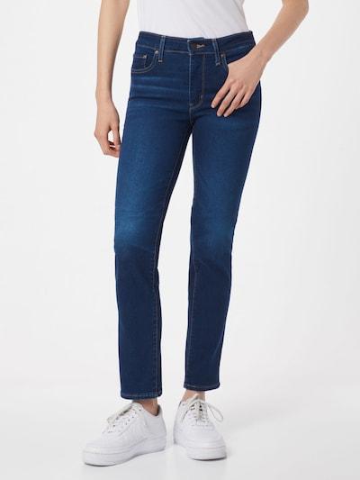 LEVI'S Jeansy '712' w kolorze ciemny niebieskim: Widok z przodu
