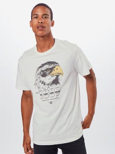 Lee T-Shirt 'BIKER TEE' en mélange de couleurs / blanc: Vue de face