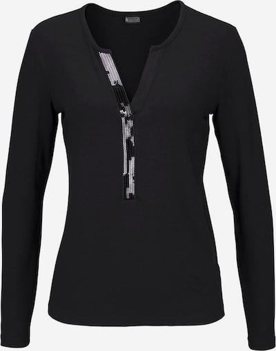 LAURA SCOTT Langarmshirt in schwarz, Produktansicht
