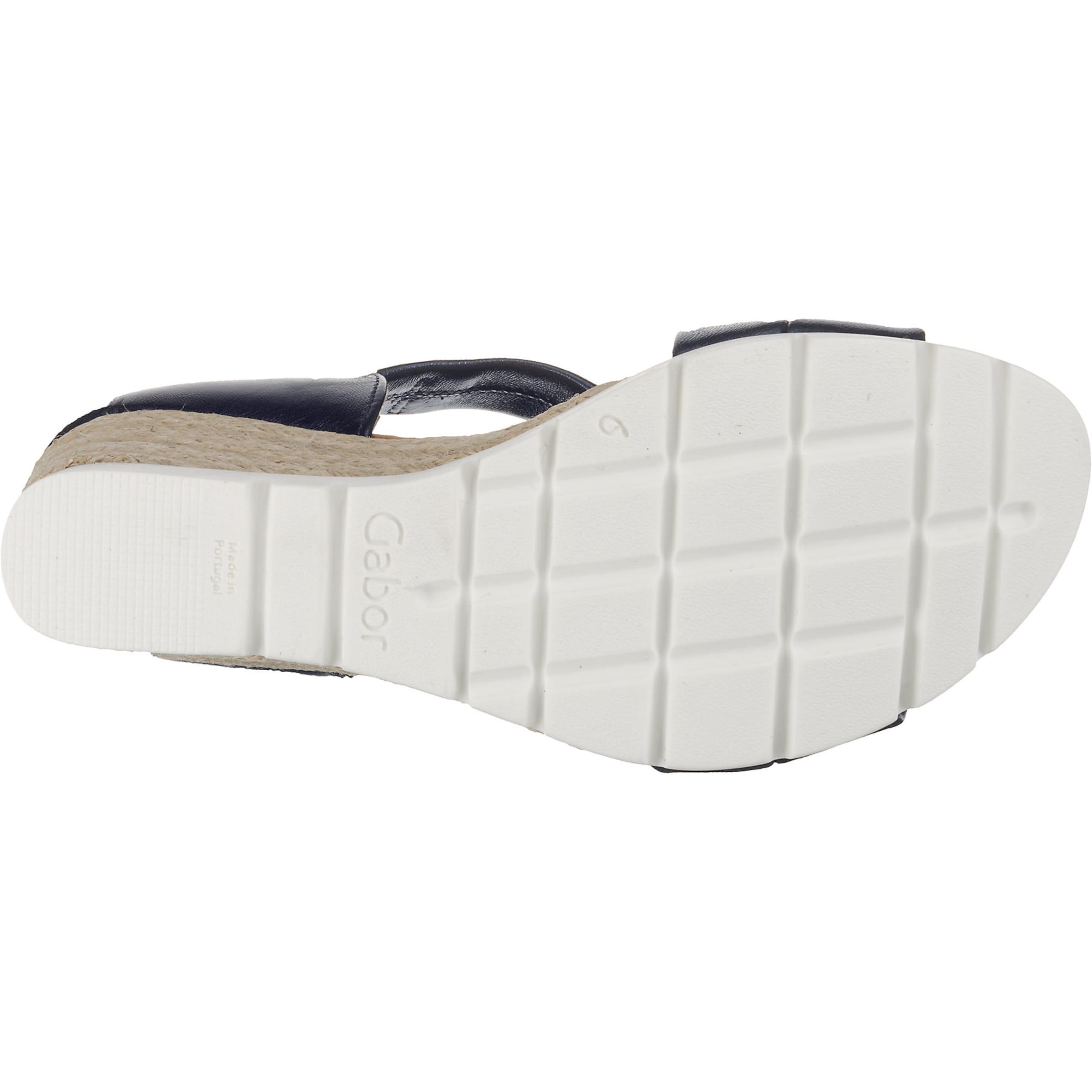 BeigeDunkelblau Gabor Sandaletten In Weiß Gabor BeigeDunkelblau Gabor In Weiß Sandaletten UMGVpLqjSz
