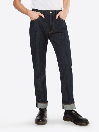 LEVI'S Jeansy '501 ORIGINAL FIT' w kolorze ciemny niebieskim, Podgląd na modelu(-ce)
