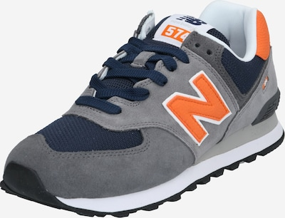 new balance Sneaker 'ML574' in navy / grau / orange, Produktansicht