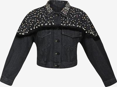 MYMO Jacke in black denim, Produktansicht