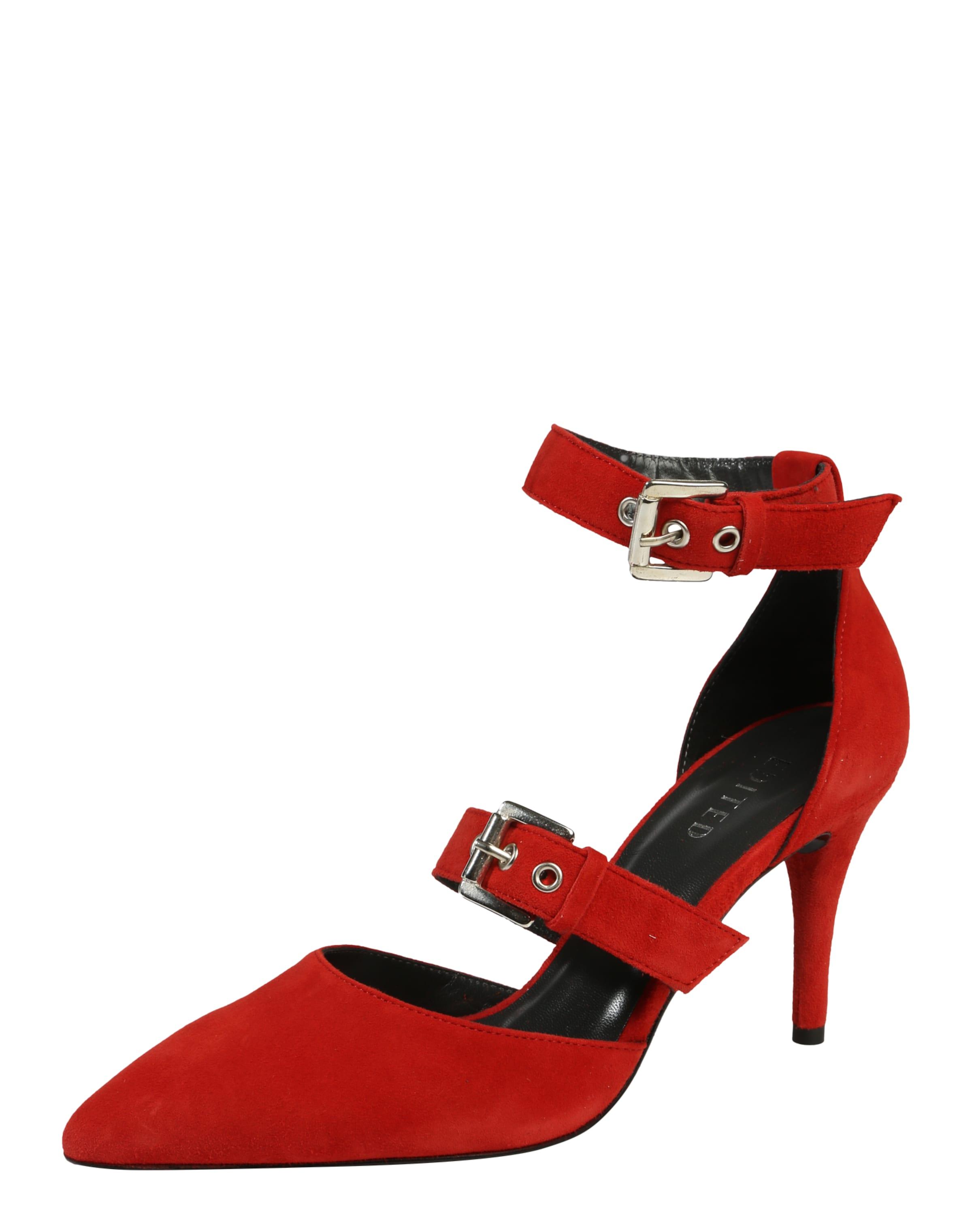 Sandales Avec Ceinture Rouge Sous La Direction « Elisa » 5YGw7DGAW