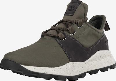 TIMBERLAND Sneakers laag 'Brooklyn' in de kleur Kaki / Zwart / Wit, Productweergave