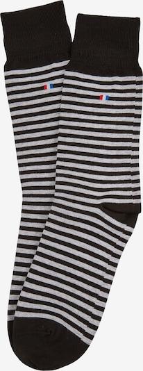 DANIEL HECHTER Socken in graumeliert / schwarz, Produktansicht