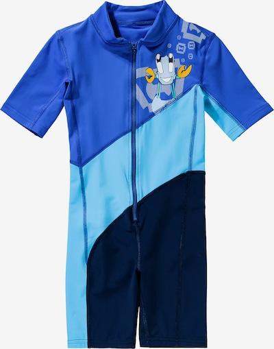 HYPHEN Schwimmanzug in blau / hellblau / dunkelblau, Produktansicht