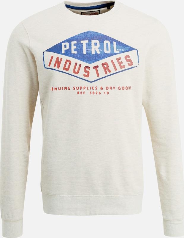 Petrol Industries Sweatshirt in perlweiß  Mode neue Kleidung