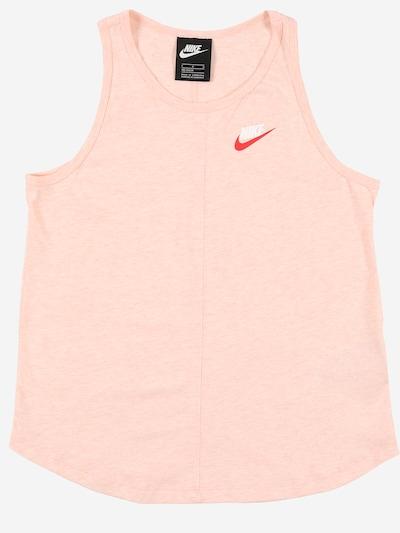 Nike Sportswear Koszulka w kolorze brzoskwiniowym: Widok z przodu