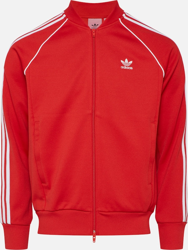 ADIDAS ORIGINALS Übergangsjacke in Rot | ABOUT YOU