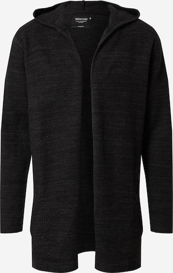 INDICODE JEANS Strickjacke 'Denzel' in schwarz, Produktansicht