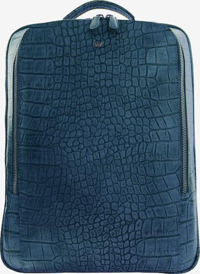 Braun Büffel Rucksack in blau, Produktansicht