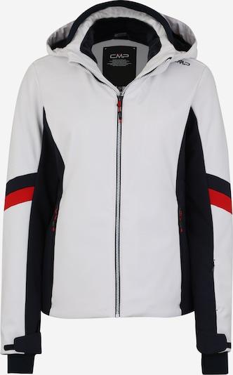 CMP Outdoorjas in de kleur Zwart / Wit, Productweergave