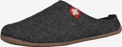 Living Kitzbühel Hausschuhe in basaltgrau, Produktansicht