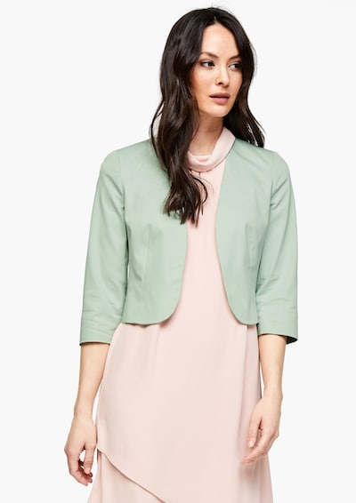 s.Oliver BLACK LABEL Blazer in mint, Modelansicht