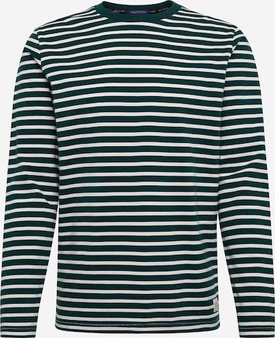 SCOTCH & SODA Shirt in de kleur Donkergroen / Wit, Productweergave