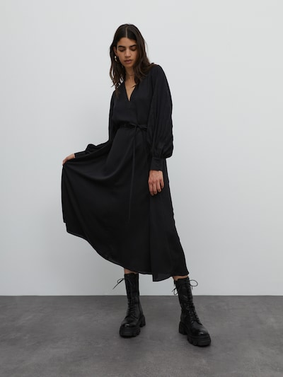 EDITED Kleid 'Valeska' in schwarz, Modelansicht