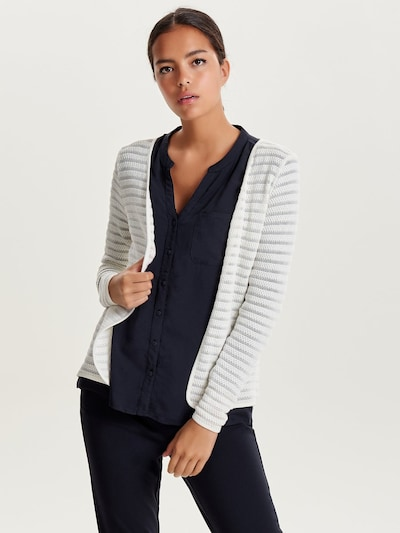 ONLY Strick-Cardigan in weiß, Modelansicht