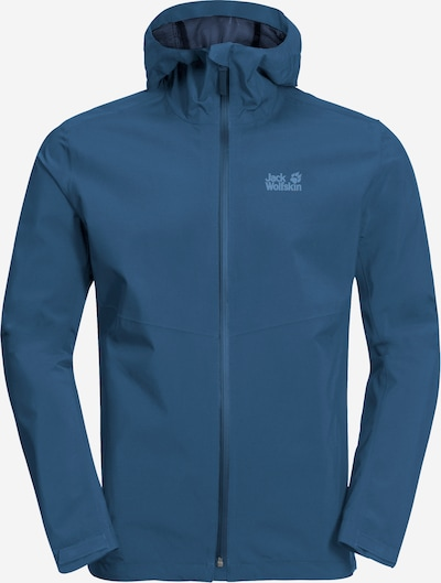 JACK WOLFSKIN Outdoorjas 'JWP SHELL M' in de kleur Blauw, Productweergave