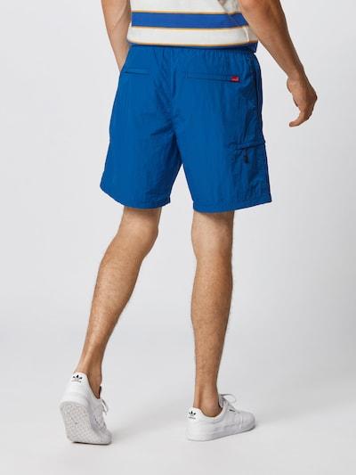 LEVI'S Shorts 'LINEDWALKSHORT' in blue denim: Rückansicht