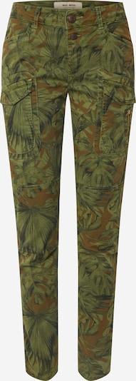 Pantaloni cu buzunare 'Hurley ' MOS MOSH pe verde închis / culori mixte, Vizualizare produs