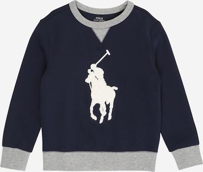 POLO RALPH LAUREN Sweatshirt in navy / grau / weiß, Produktansicht