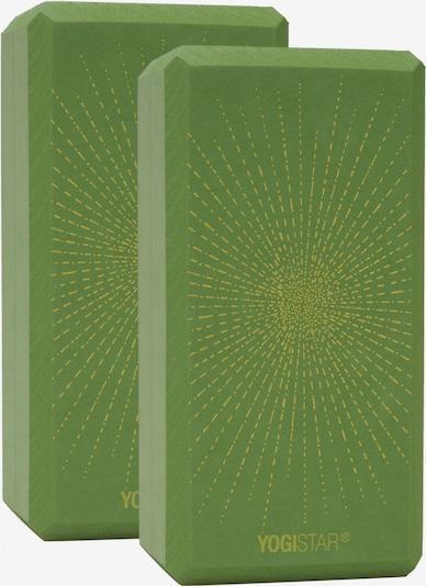 YOGISTAR.COM Yogablock 'Sparkling Sunray' in kiwi, Produktansicht