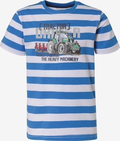 SALT AND PEPPER T-Shirt , Traktor in blau, Produktansicht
