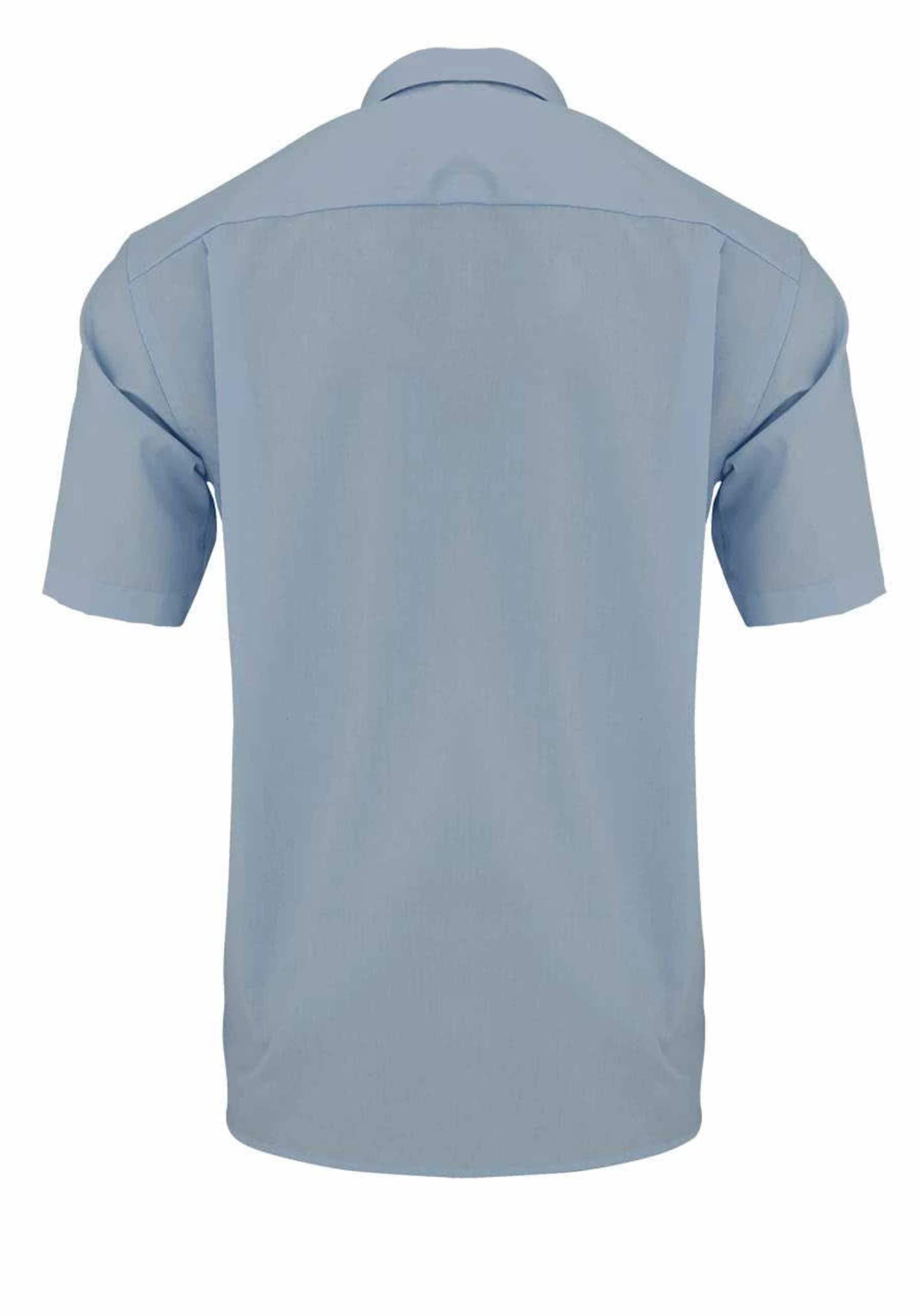 OLYMP Hemden in blau Baumwolle 1410-80-01019_40