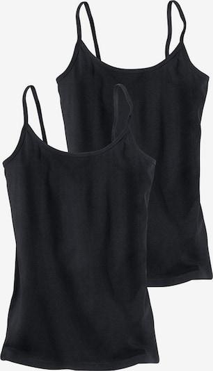 H.I.S Onderhemd in de kleur Zwart, Productweergave