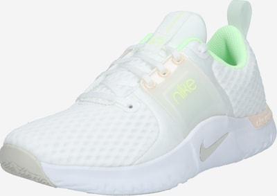NIKE Sportschuh 'Renew In-Season 10 Premium' in pastellgelb / weiß, Produktansicht