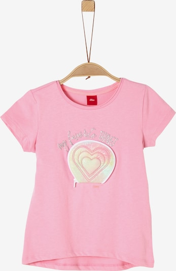 s.Oliver T-Shirt in pink: Frontalansicht