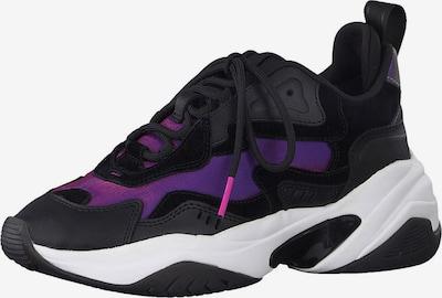 TAMARIS Sneaker in lila / schwarz, Produktansicht