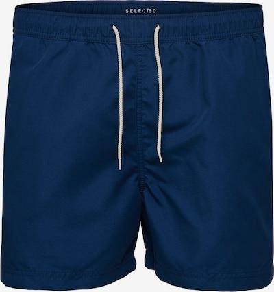 SELECTED HOMME Basic - Badeshorts in blau, Produktansicht