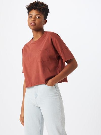ABOUT YOU Shirt 'Lenja' in de kleur Roestbruin: Vooraanzicht