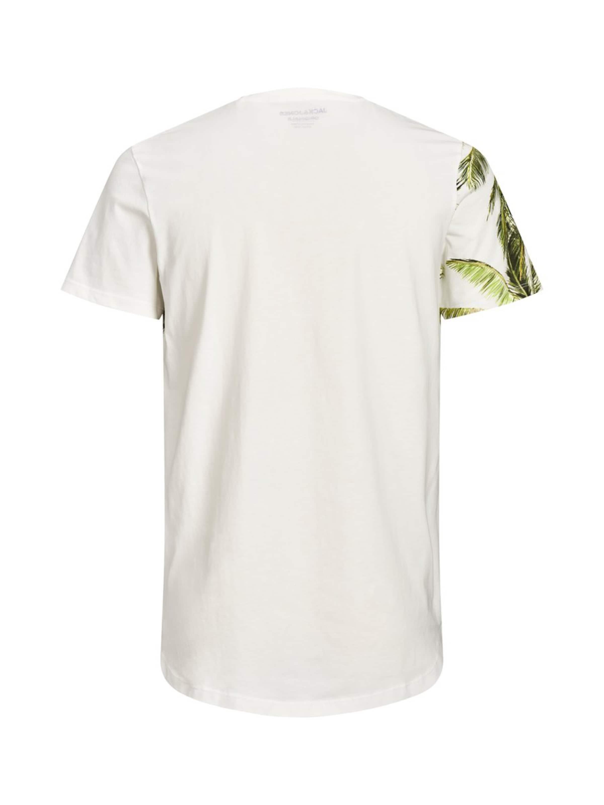 shirt In CremeGrün Jackamp; Jones T Weiß lFK1Jc