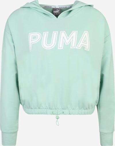 PUMA Sport-Sweatshirt 'Modern Sports Hoody' in mint / weiß, Produktansicht