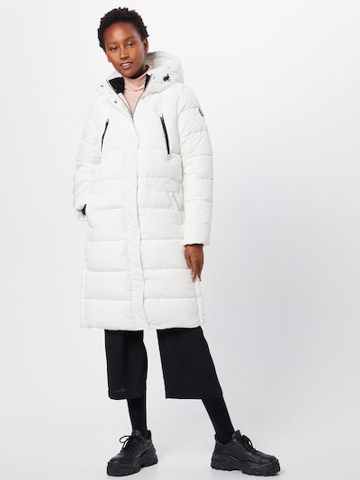 TOM TAILOR DENIM Mantel in weiß, Modelansicht