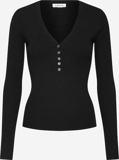 Pulover 'Alesia' EDITED pe negru: Privire frontală