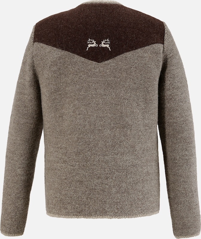 Os-seek Costume Sweater With Embroidery