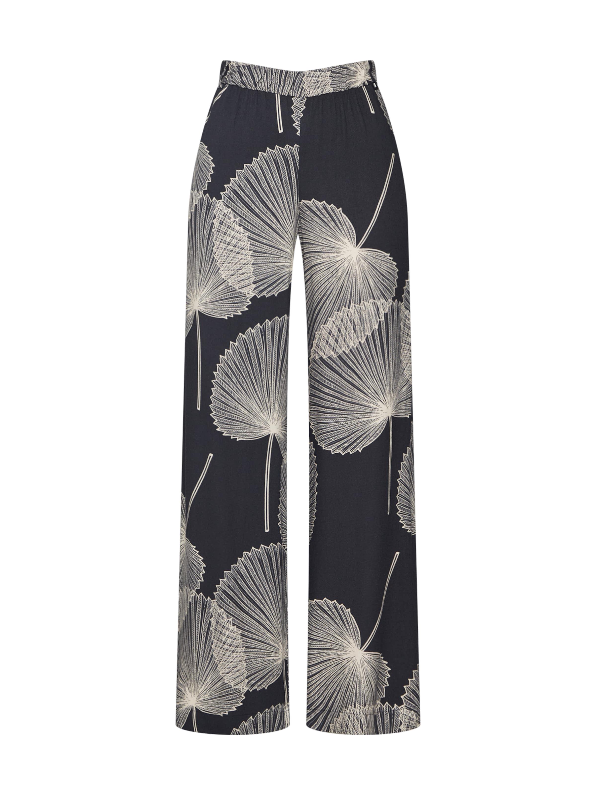 Collection Schwarz 'printedstraight' Esprit In Hose E9HYWID2
