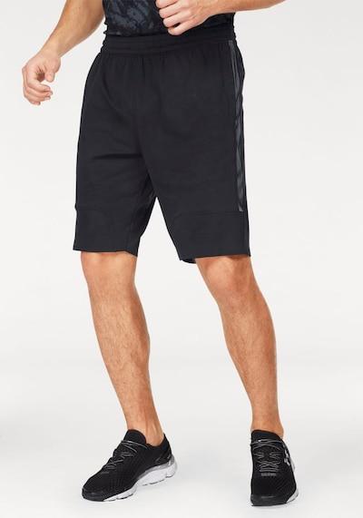 UNDER ARMOUR Sporthose 'Threadborne Vanish Ftd' in mint / schwarz: Frontalansicht