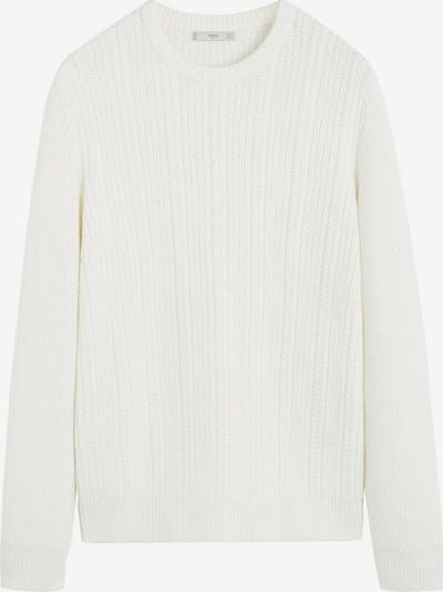 MANGO MAN Sweter 'Jasper' w kolorze białym, Podgląd produktu