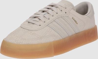 ADIDAS ORIGINALS Sneakers laag 'SAMBAROSE' in Donkerbeige