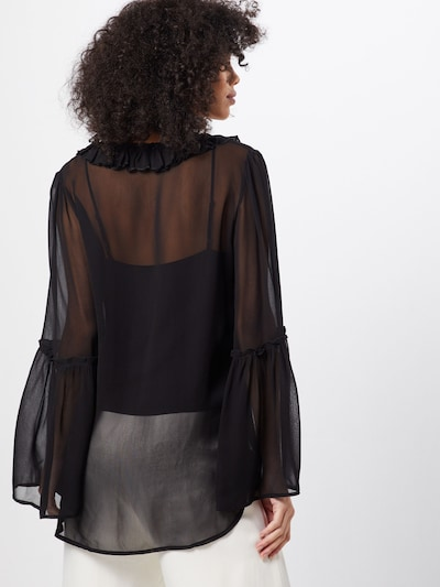 Palaidinė 'SAMIA' iš Farina Opoku , spalva - juoda: Vaizdas iš galinės pusės